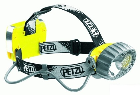 Hybrid waterproof headlamp Duo Led 14